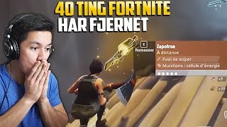 40 TING FORTNITE HAR FJERNET FRA FORTNITE BATTLE ROYALE!