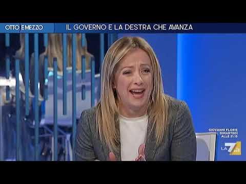 Giorgia Meloni dalla Gruber: Anche stasera volevano 'togliermi l'audio'....come sono andata? :)
