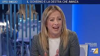 """Giorgia Meloni dalla Gruber: Anche stasera volevano """"togliermi l'audio""""....come sono andata? :)"""
