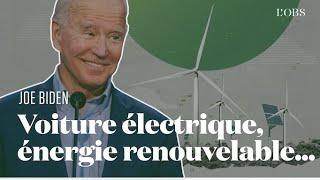 Les propositions de Joe Biden pour l'écologie