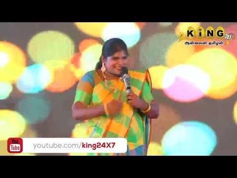 #அறந்தாங்கி நிஷா   Part -1  பழனி    இணைந்து வழங்கும் நகைச்சுவை கலாட்டா  STAN UP COMEDY   KING24X7