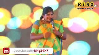 #அறந்தாங்கி நிஷா | Part -1| பழனி  | இணைந்து வழங்கும் நகைச்சுவை கலாட்டா| STAN UP COMEDY | KING24X7