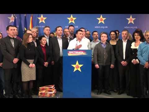 Груевски за да се спаси испраќа порака на дестабилизац...