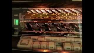 9765 Khz, Radio New Zealand International received on vintage tube radio in Germany