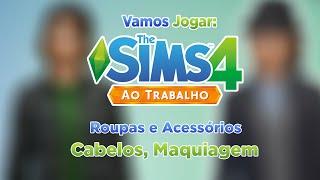 Les Sims 4 sur le Bureau, Tous les Vêtements et les Étrangers