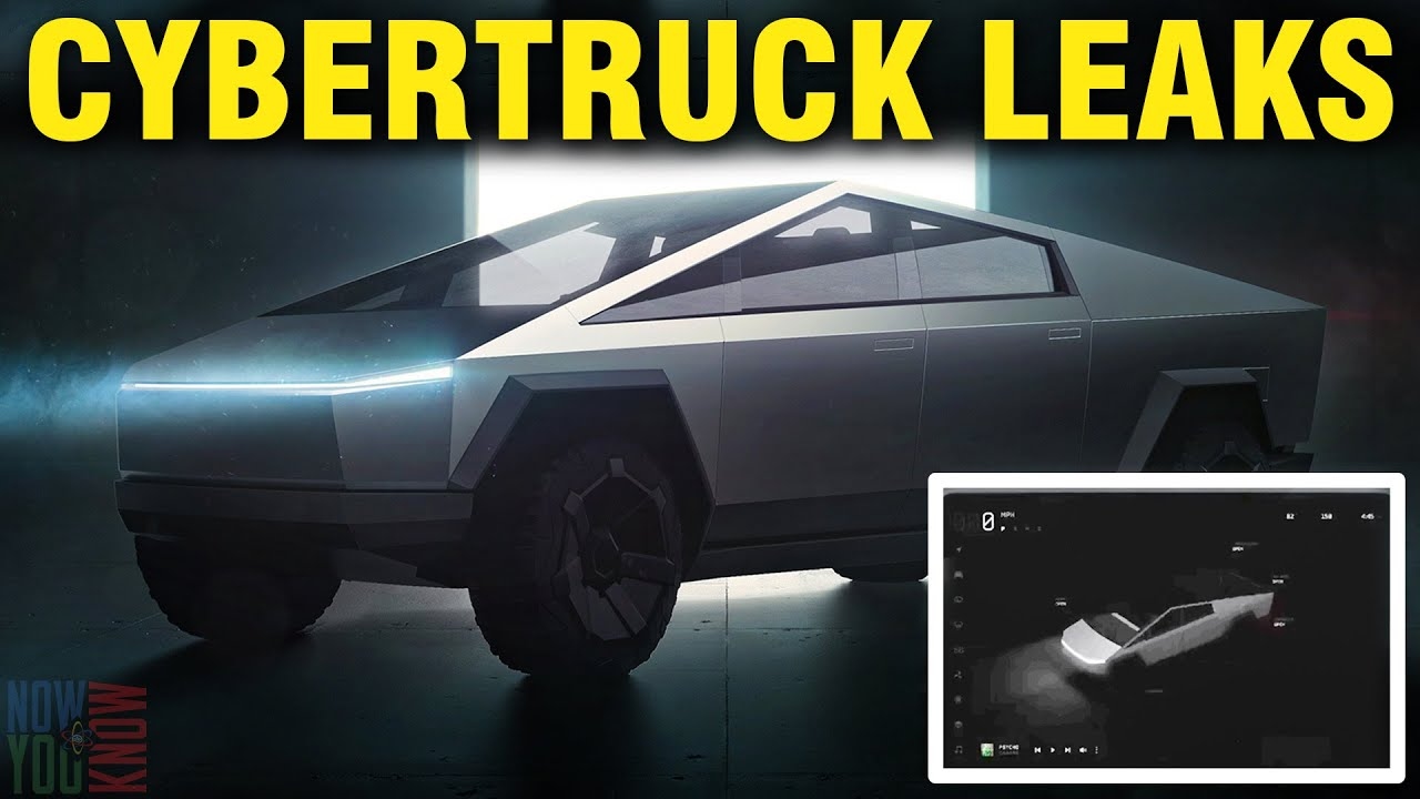 Tesla Time News - Cybertruck UI Leaks!
