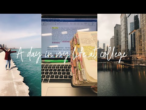 A Day In My Life At College ((in Chicago))