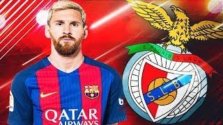 Baixar Pleaca Messi de la Barcelona Salariu de 600.000Euro pe Saptamana || FIFA 18 Romania Benfica #6