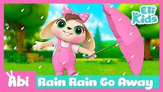 Rain Rain Go Away With Lyrics | Nursery Rhymes for Kids | Eli Kids