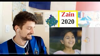 Zain Ramadan 2020 (better quality video) reaction لا ينسانا الله ... اعلان زين لرمضان