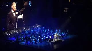 Andrea Bocelli - Nessun Dorma - New York - 12/13/17