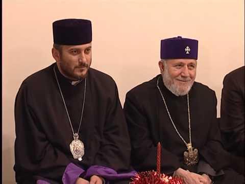 "Catholicos of All Armenians visits ""Mer Hooys"" Nakashian Children's Home"
