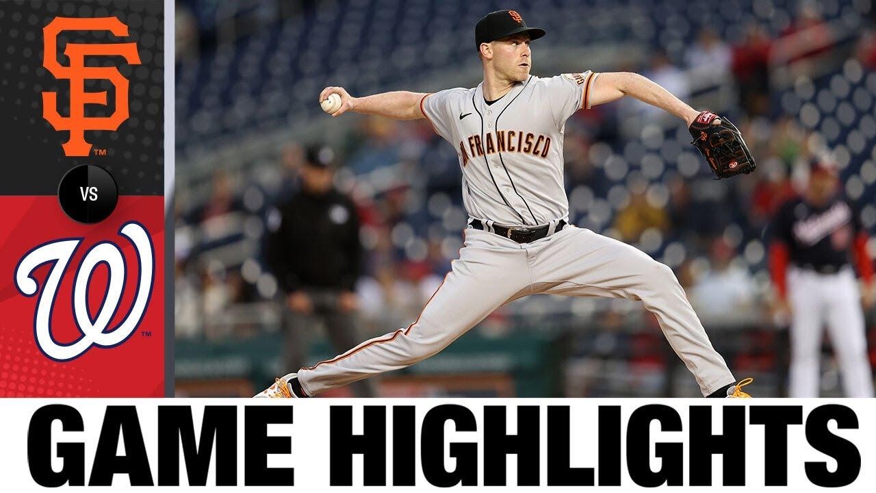 Download Giants vs. Nationals Game Highlights (6/11/21) MLB Highlights