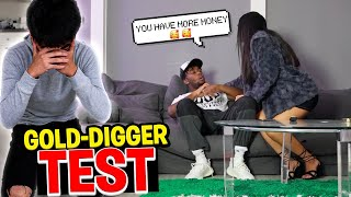 Testing to See if Simp's Crush is a Gold Digger Experiment! DID SHE GET EXPOSED LIVE?
