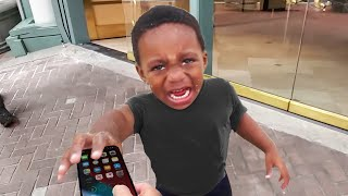i caught him stealing my iPhone 12.. (BIG MISTAKE)