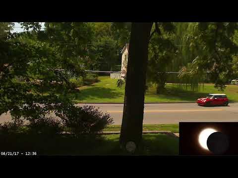 Total Eclipse 2017 time lapse (St. Louis, MO. USA)