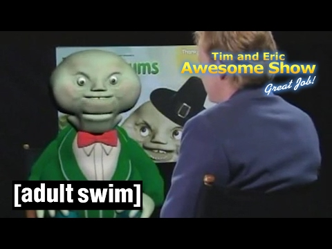 It's Grum! (3-in-1) | Tim and Eric Awesome Show, Great Job! | Adult Swim