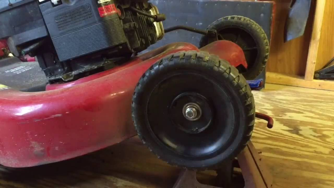 Craftsman Lawn Mower Wheel Replacement