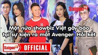 AVENGERS: ENDGAME | Một nửa showbiz Việt gây bão tại sự kiện ra mắt Avenger: Hồi kết - SAIGONTV