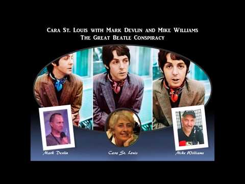 Cara St. Louis with Mark Devlin and Mike Williams - The Great Beatle Conspiracy (Aug 2017)