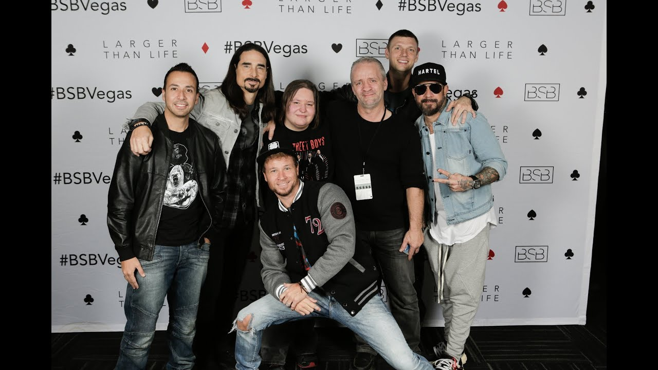 Carrie and daddy in vegas to meet greet see the backstreet boys carrie and daddy in vegas to meet greet see the backstreet boys live m4hsunfo