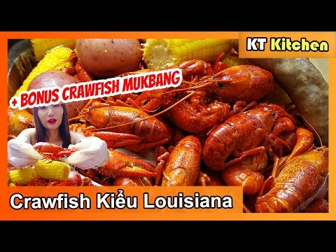 Nấu Crawfish Kiểu Louisiana [ MUKBANG Crawfish] CAJUN CRAWFISH BOIL   ENGLISH CAPTION    KT Food