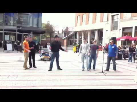 Exeter Musical Society Guys and Dolls Flash Mob
