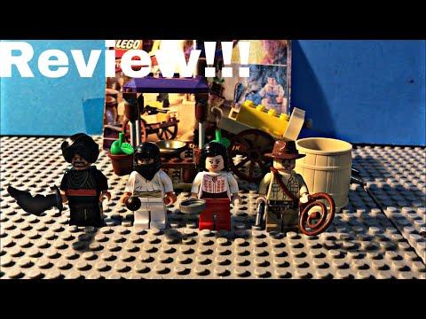 Lego indiana jones ambush in Cairo set review!!!
