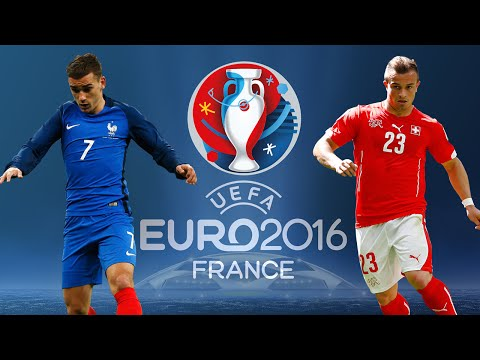 EURO 2016 : FRANCE  - SUISSE