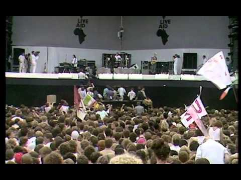 U2 - Sunday Bloody Sunday + Bad (Live Aid 1985) 1080p HD