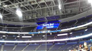 New Organ at the Tampa Bay Times Forum