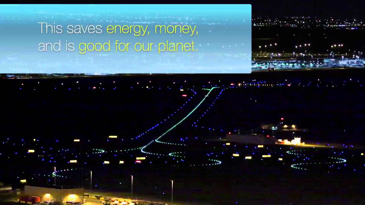 Denver International Airport Turns Off Runway Lights To Support  Sustainability
