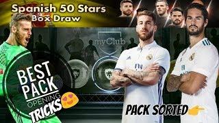 Spanish 50 Stars Box Draw Opening - Black Ball Tricks