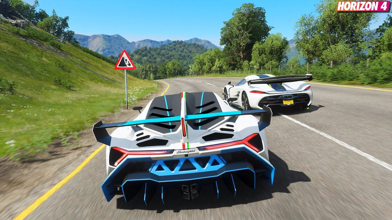 Forza Horizon 4 - 1,500HP ! Lamborghini Veneno | Goliath Race Gameplay