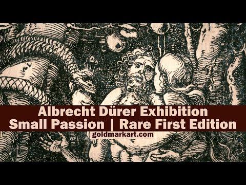 Albrecht Dürer Exhibition | The Small Passion. Rare First Edition | GOLDMARK