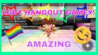 -*BEST LGBT HANGOUT GAME ON ROBLOX🏳️‍🌈-* roblox gameplay part 1