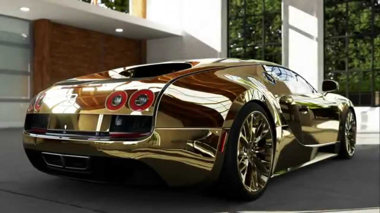 How much does a gold bugatti cost