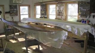 How To Make A Kayak - Fiberglassing