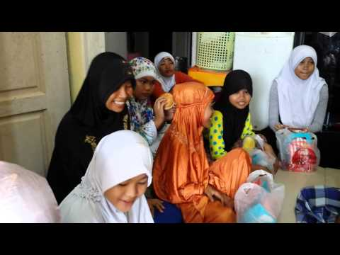 Mission 65, Food & Toys to 2 Orphanges in Batam, INDONESIA (11/10/14)