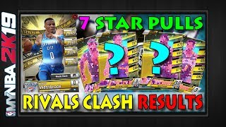 PULLED 7 STARS & GOT WESTBROOK   Rivals Clash Top 500 Results Resets Pull Rates   MYNBA2K19