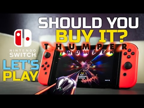 Should You Buy It? Let's Play Thumper on Nintendo Switch (TV & Tabletop Mode Gameplay)