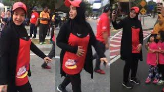 Datuk Siti Nurhaliza @ Jakel Charity Run For Rohingya 2017