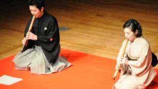 Rokudan Hachidan Fukiawase  World Shakuhachi Festival 2012 Kyoto