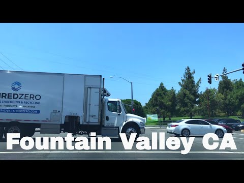 🔴  Fountain Valley Realtor Driving Tour 4K