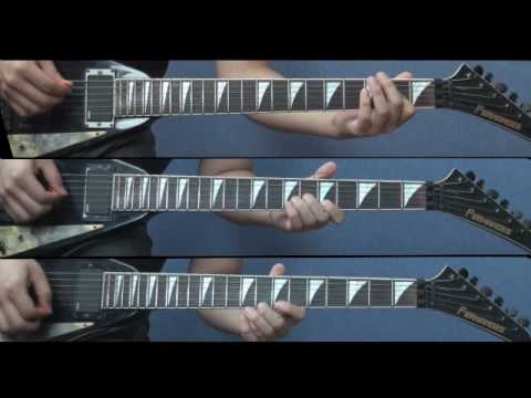 Megadeth - Countdown To Extinction (midi+guitars)