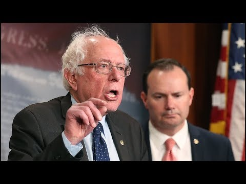 Bernie: End The Illegal War In Yemen