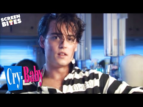 """Cry Baby"" - Johnny Depp behind the scenes interviews"