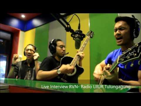 RVN - KISAH YANG SEMPURNA   1st    #LiveInterview Radio Liiur Tulungagung