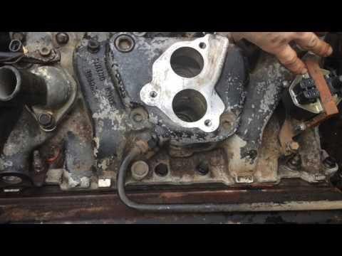 Replace Intake Manifold Gasket SBC 350 Chevy