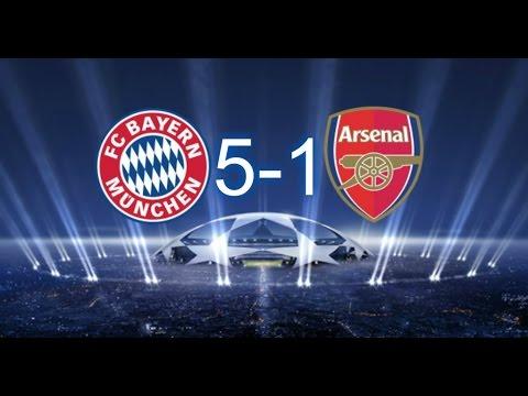 Bayern Arsenal 5 1